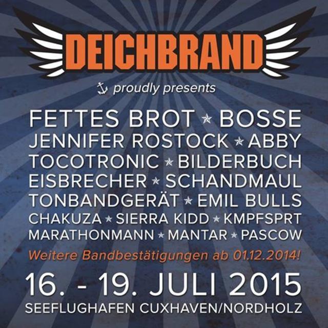 Deichbrand Festival 2015