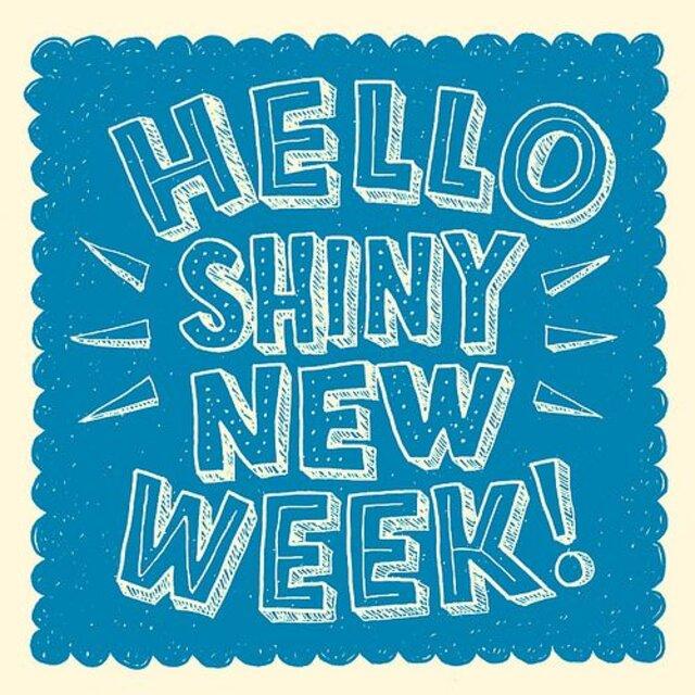 Hello Shiny New Week
