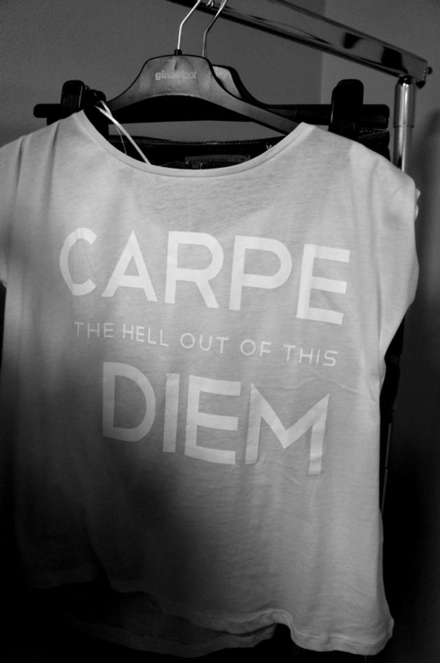 Carpe the Hell out of this Diem Shirt