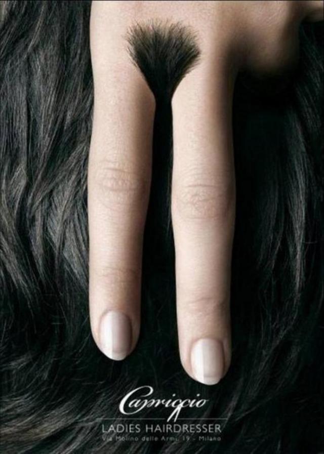 Hairdresser Ad