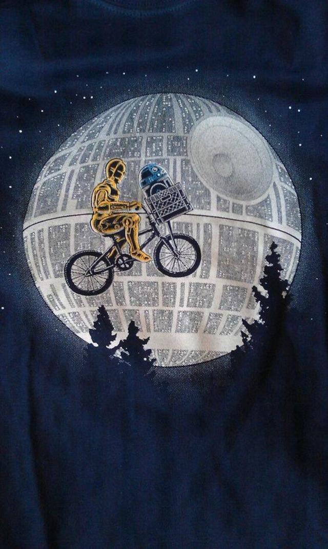 E.T. meets Star Wars