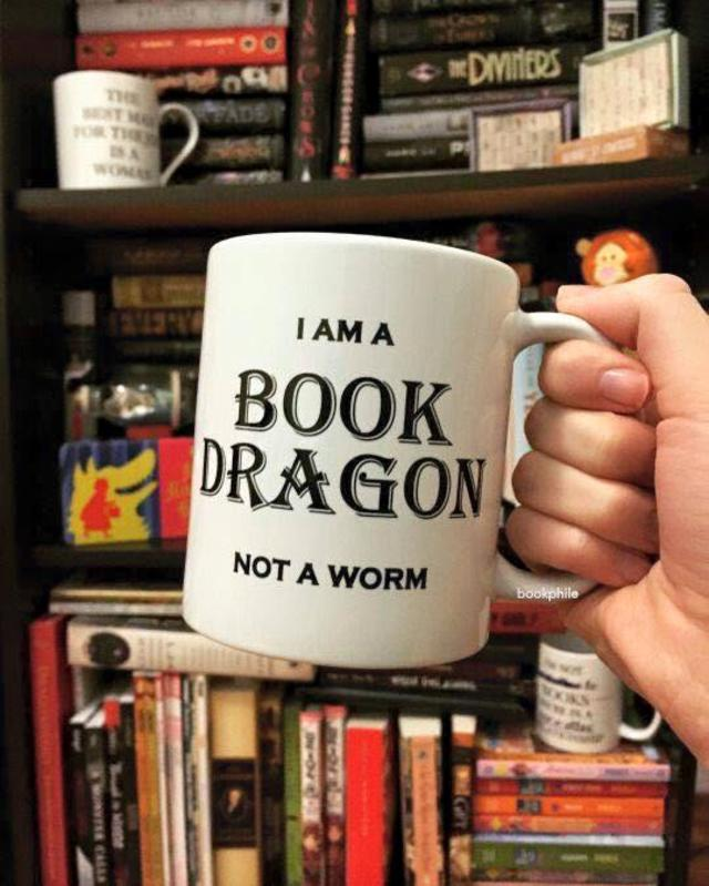 Being a book dragon