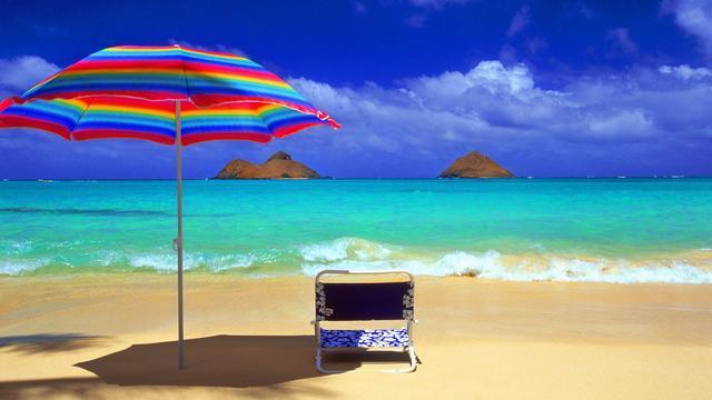 #beach #sun #sky #relax