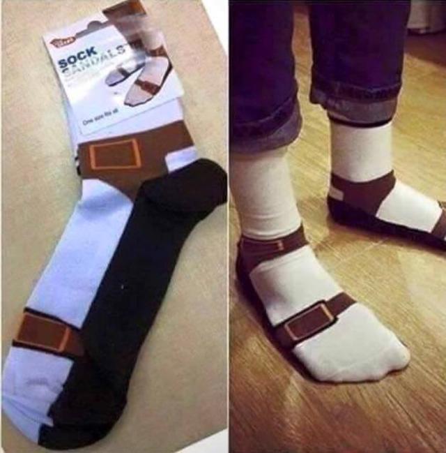 German Tourist socks