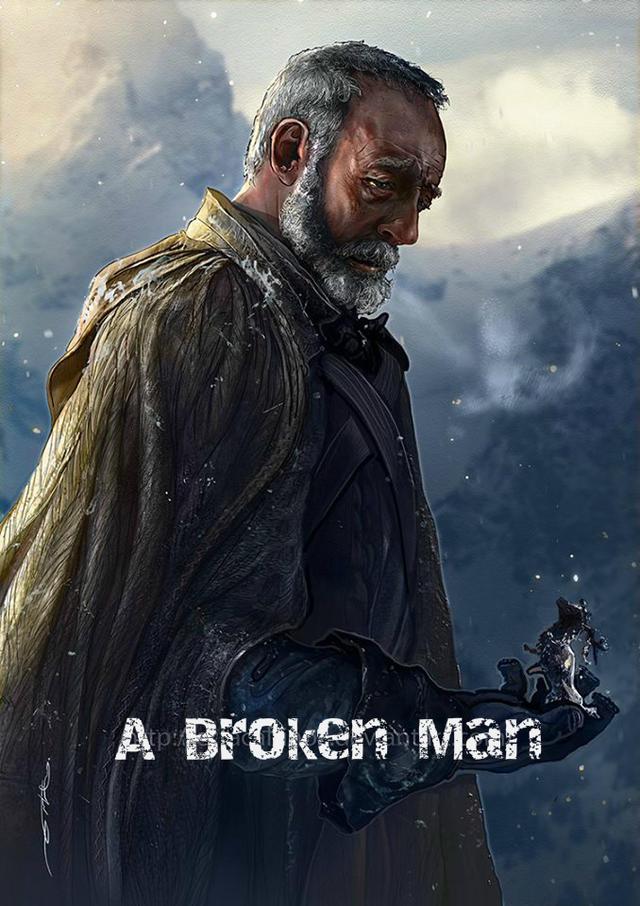 A Broken man...