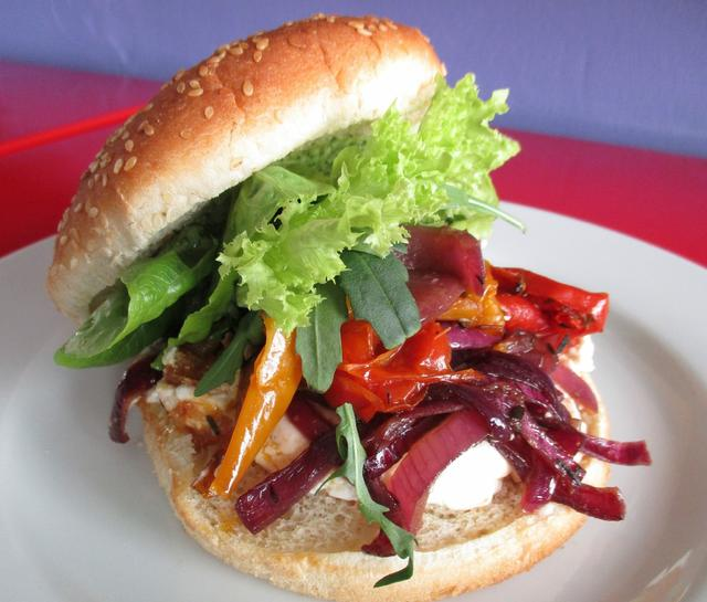 Burger - meat free Monday