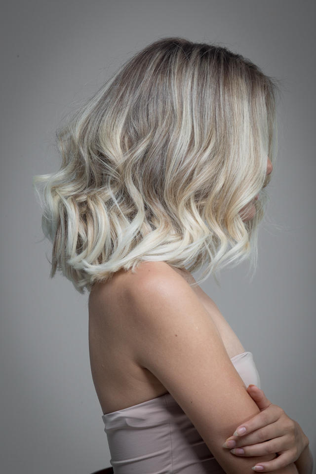 Ombre hair like this