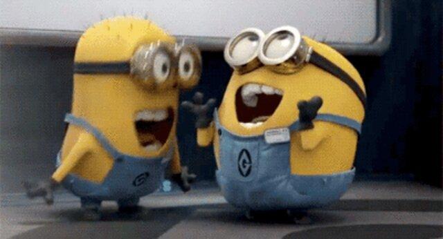 Minions laught