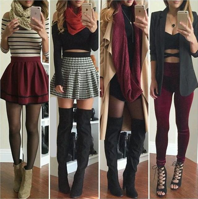 Sexy Classic Style Outfits