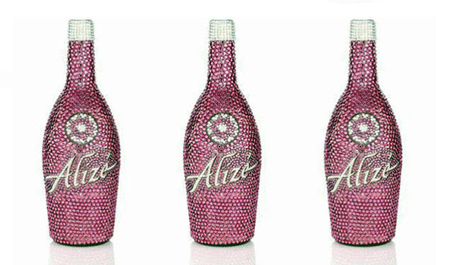 Swarovski studded Alize Vodka - $2,000 a bottle