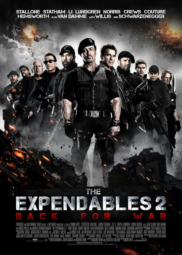 The Expendables 2: Back for War 2012