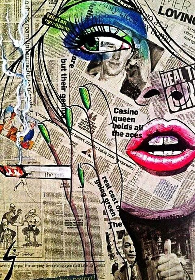 Collage paranoia