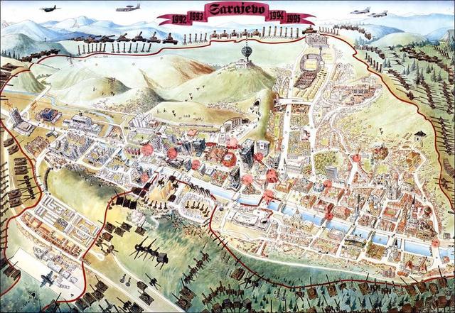 Opkoljeno Sarajevo