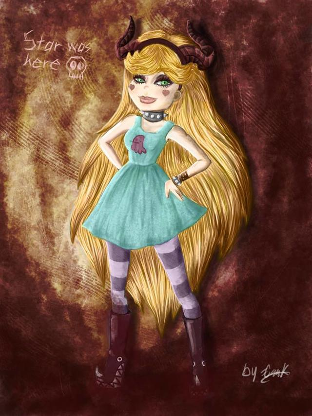 Star Butterfly Fan Art