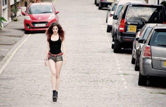 London streets walk