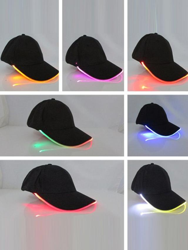 Club Party Adjustable Lighted Glow LED Baseball Cap