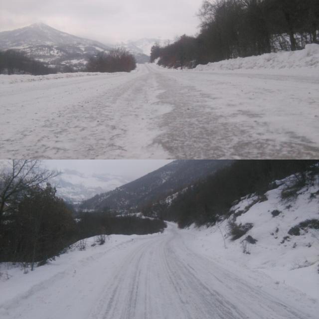 Zaleđena cesta