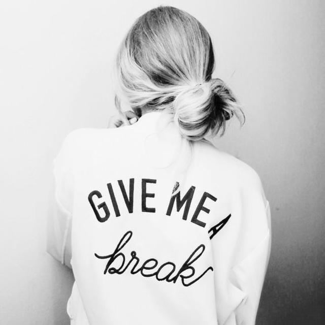 Give me a #break
