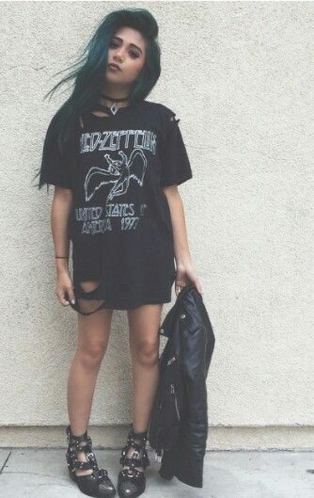 This #NewGrunge Look