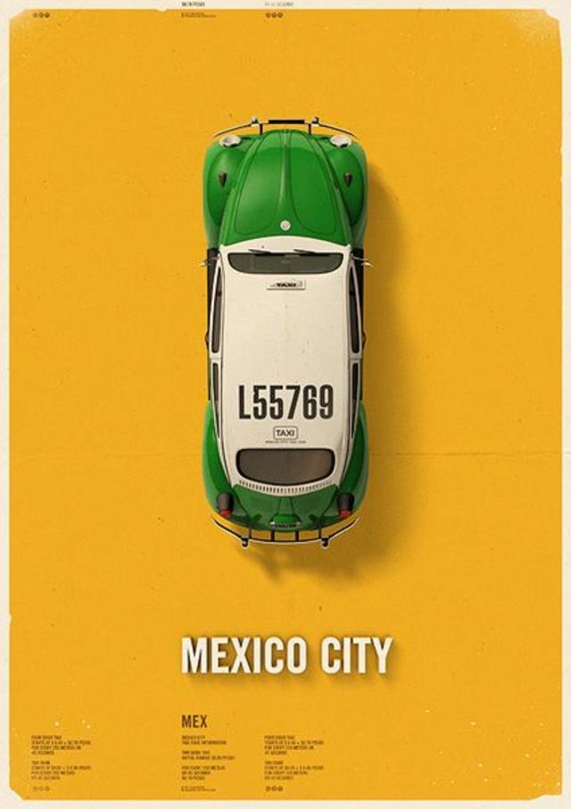 Mexico City Cab