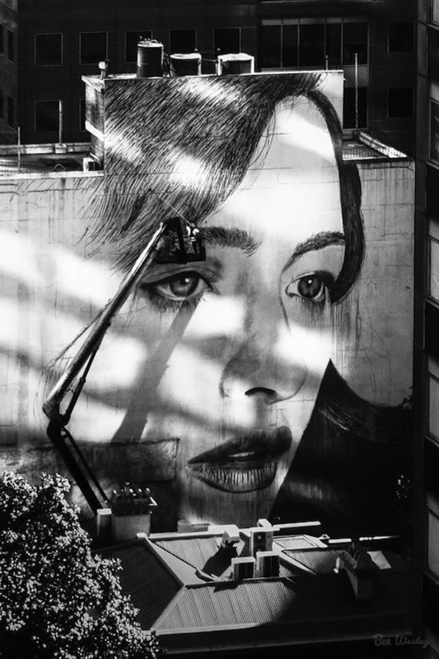 streetart girl