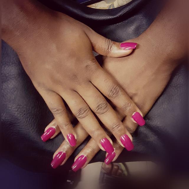 #mynails #cute #love # nice #colour