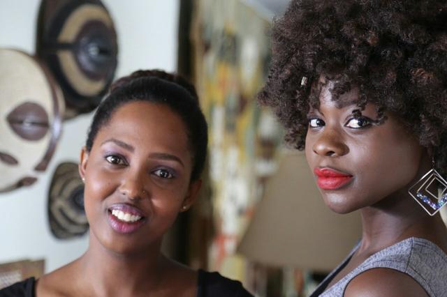 #NaturalHair#CurlyHair#RedLippie#AfricanAccesories