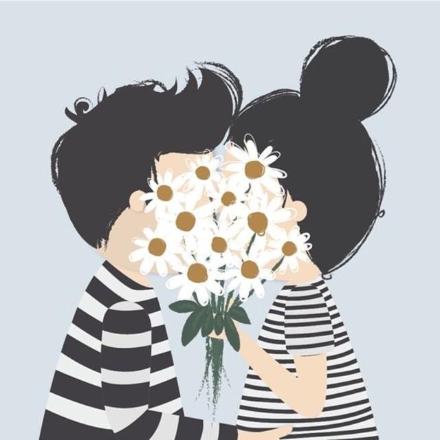 Lets hide behind those flowers