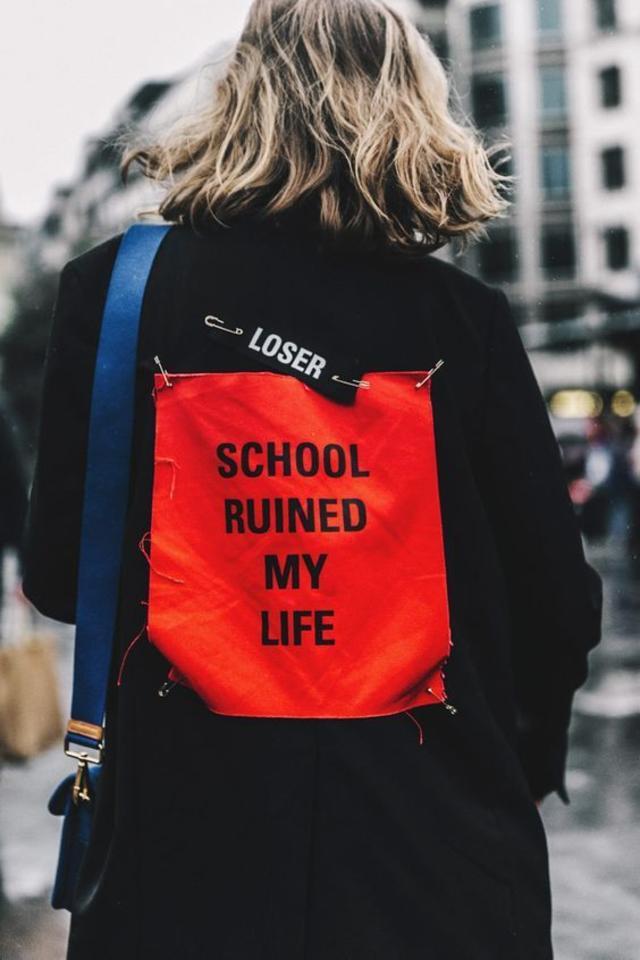 f school