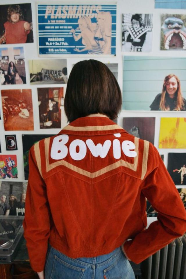 Burnt Red Cord Bowie Jacket