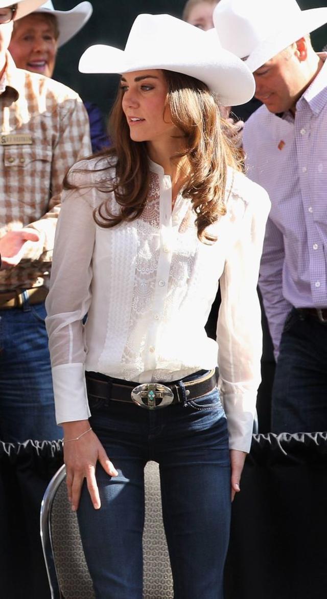 Kate Middleton in jeans
