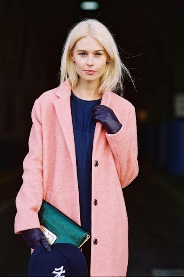 blonde pink black