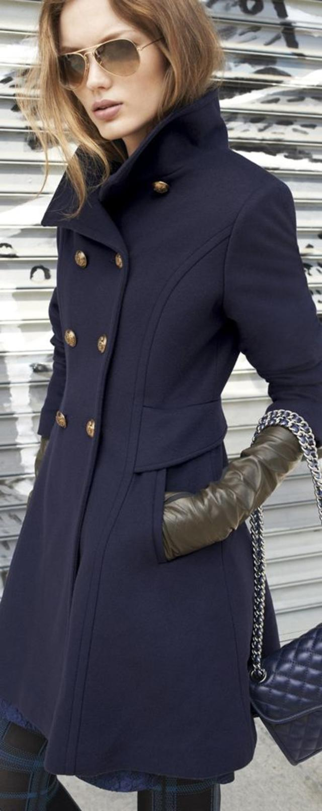 Trina Turk Officers Coat & Accessories