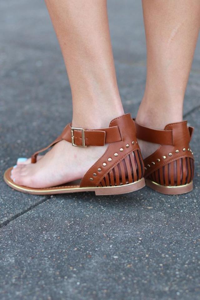 Jovie Studded Sandals