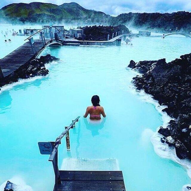 Blue Lagoon Hot Springs - Iceland