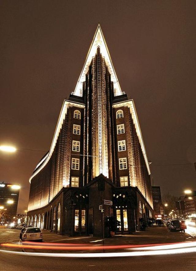 Chilehaus in Hamburg, by Fritz Höger