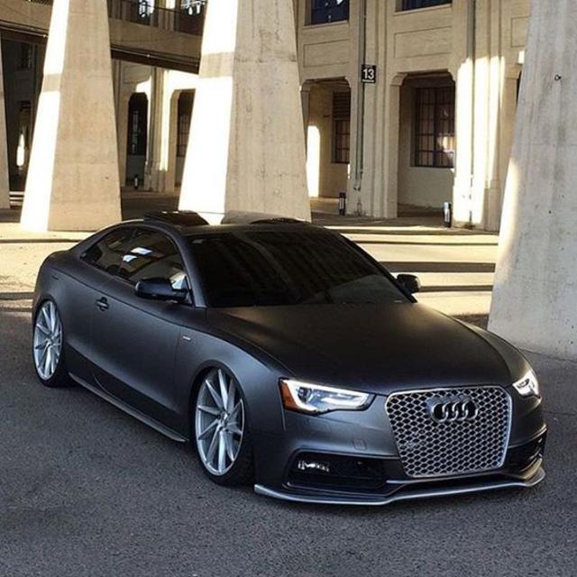 Matte Black Audi S5