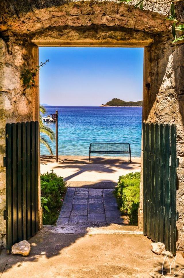 Lopud Island near Dubrovnik, Croatia