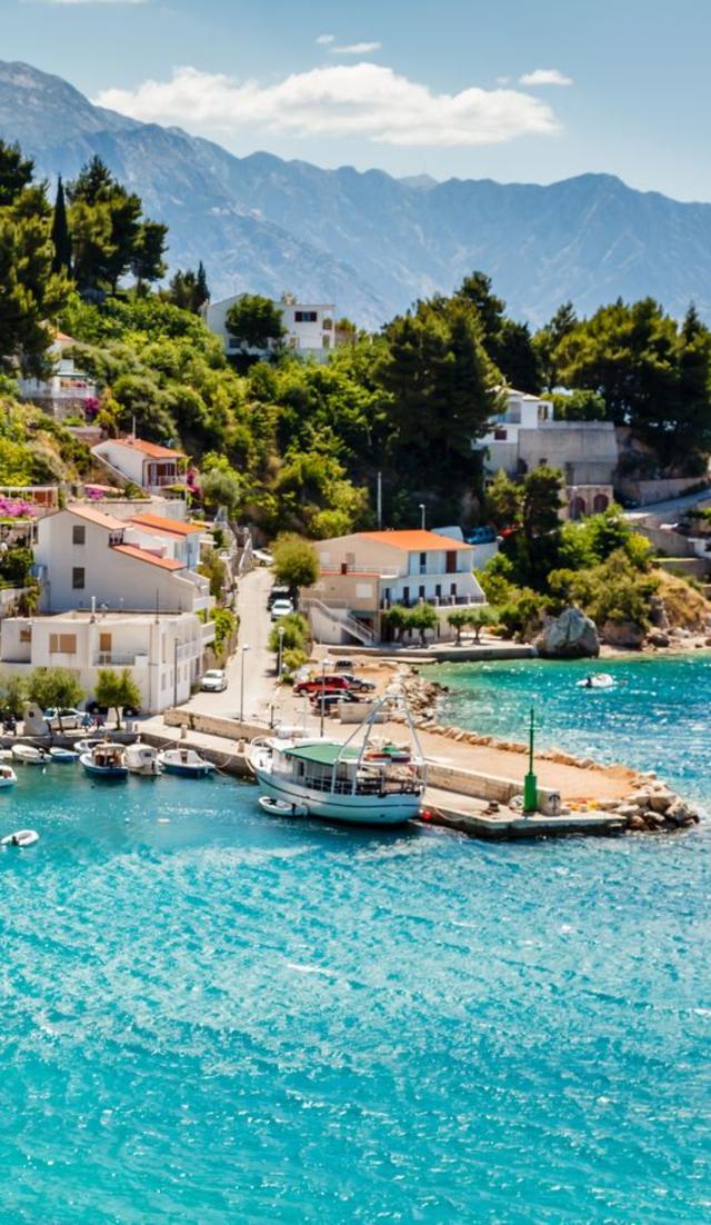 Adriatic bay at Split, Croatia