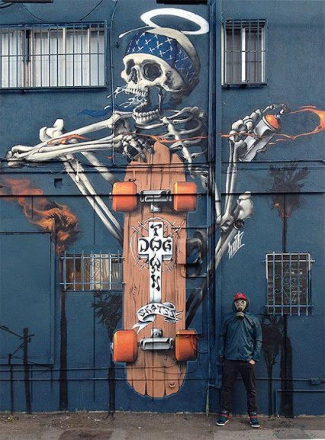 Dog Town Skates, Venice Beach, CA by HUIT