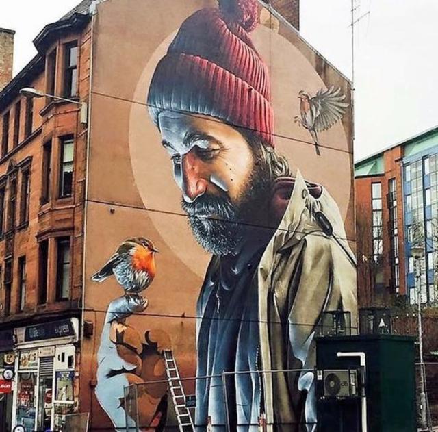 New Street Art • Smug One Glasgow