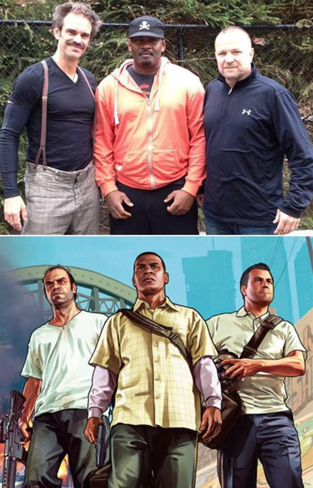 Franklin, Michael, and Crazy Trevor