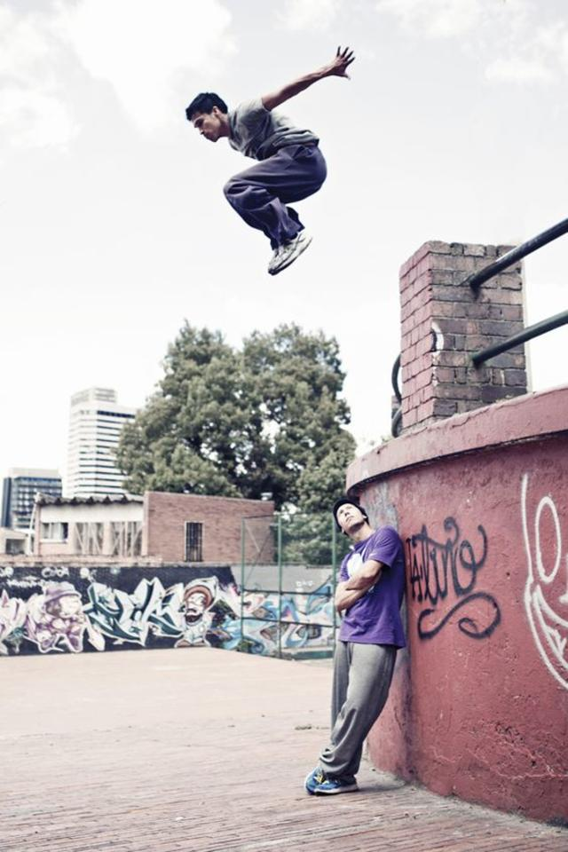 Parkour Urban Sports by Agustina Lallana