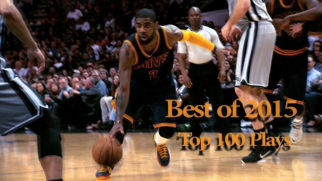 Top 100 NBA Plays of 2015