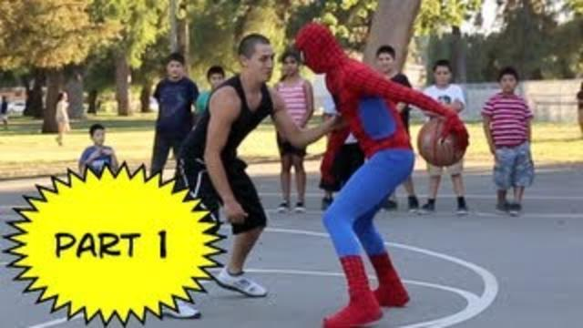 Spiderman Basketball Part 1