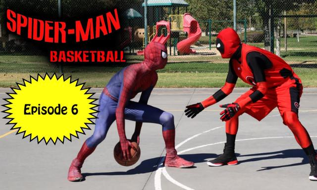 Spiderman Basketball - Episode #6 ft Deadpool