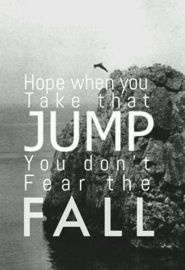 I lived - OneRepublic. Hope when you take that jump you dont fear the fall