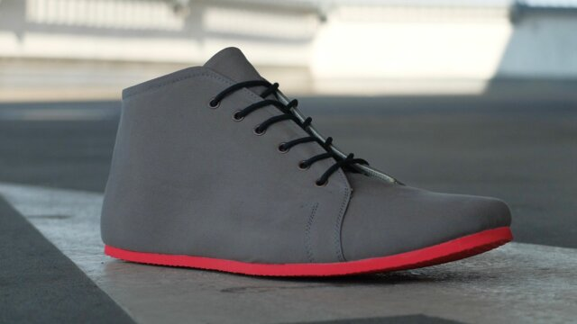 SORBAS 66 Grey / Poppy Red
