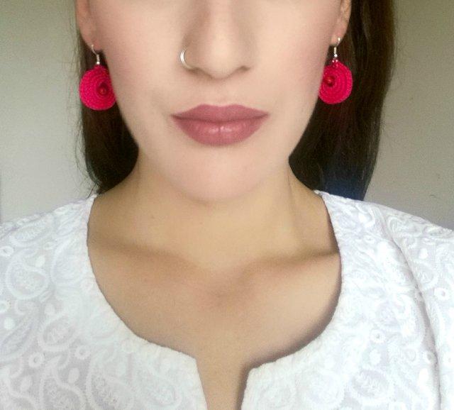 Missunderstood Hot Pink Kawaii Earrings