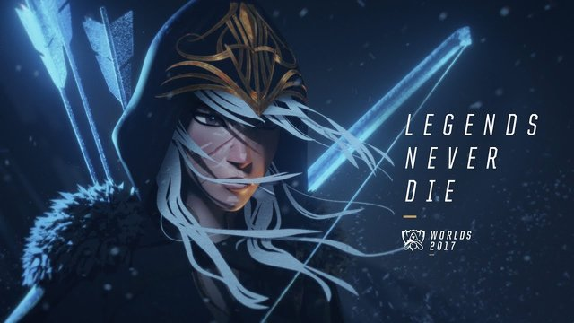 Legends Never Die - Worlds 2017